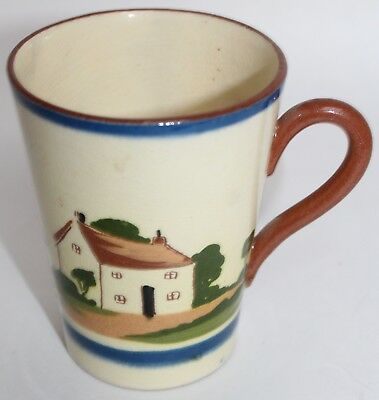ANTIQUE Devon TORQUAY Motto Ware Mug Life Is Made Of Time Don't Waste It