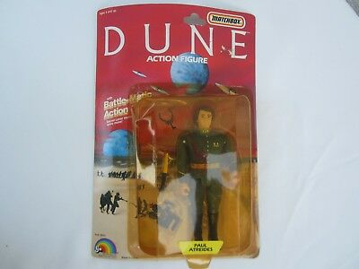 1984 LJN DUNE Paul Atreides ACTION FIGURE SEALED New Vintage MATCHBOX TOY Rare