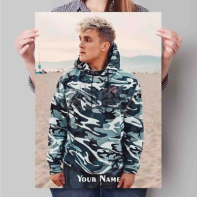 Jake Paul Custom Hot TV Series Fabric Poster Art TY614-20x30 24x36 Inch