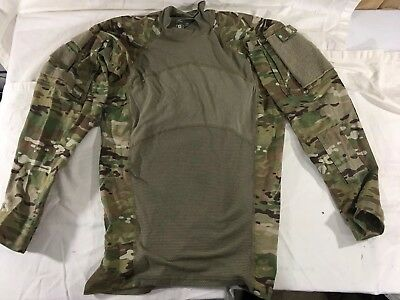 Small OCP Massif Multicam Army Combat Shirt ACS Flame Resistant, EXCELLENT!