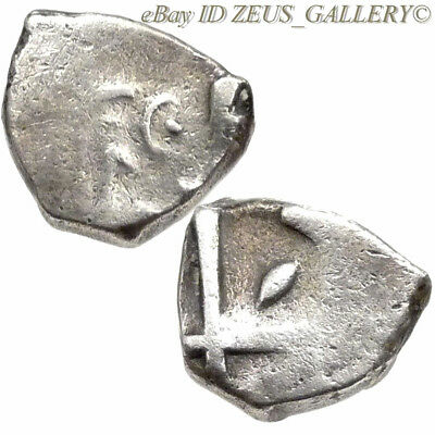 VOLCAE TECTOSAGES Celts in Gaul 100 BC Ancient Celtic Greek Silver Drachm Coin