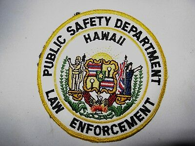 Public Safety Department Hawaii Shoulder Patch