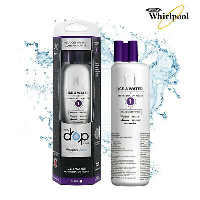 1-Pack-EDR1RXD1-Whirlpool-Every Drop-Refrigerator-Water Filter 1-W10295370A