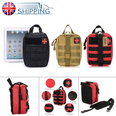 Tactical First Aid Kit Bag MOLLE Rip Away EMT EMS Medical IFAK Pouch Utility Bag