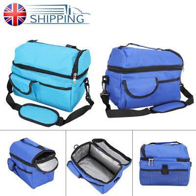 Insulated Hot Cool Bag Picnic Box Camping Food Drink Lunch Bag Storage Outdoor