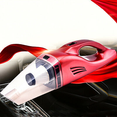 Portable Rechargeable Vacuum Cleaner Wet Dry CORDLESS 75W For Car Home Handheld