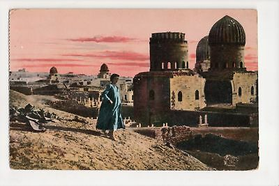 I-623 Cairo Egypt The Tombs of the Mamelouks Postcard