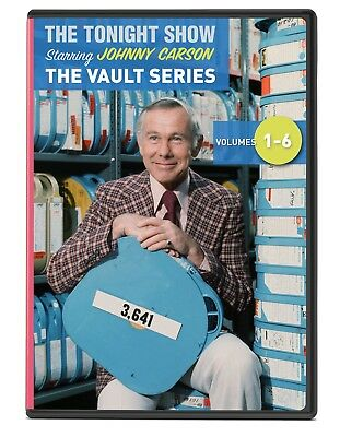 Johnny Carson Tonight Show The Vault Series 6 DVD Collection Volumes 1-6 - NEW!