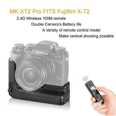 Meike MK-XT2 Pro Battery Grip with 2.4G Wireless Remote Controller for Fuji X-T2