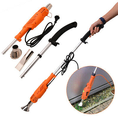 2000W Telescopic Electric Weed Burner Killer Hot Air Torch Home Garden Tool