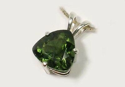 19thC Antique 4ct Czech Moldavite Gem of Islam Mecca Shrine Ka'ba Mohammed Egypt
