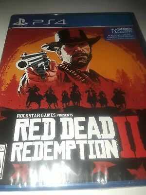 Red Dead Redemption 2 PS4, ( BRAND NEW, FACTORY SEALED)