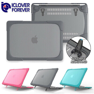 Shockproof Hybrid Rubberized Hard Shell Case for Macbook Pro 13 15 2012 - 2018
