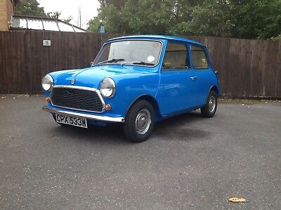 Classic Austin mini 1000, no previous owners !!!