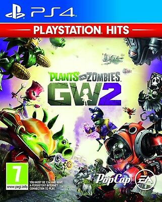 Plants vs Zombies - Garden Warfare 2 For PAL PS4 (New & Sealed)