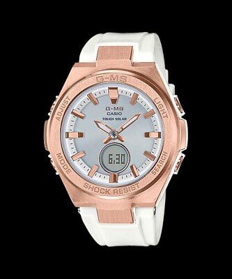 MSG-S200G-7A Tough Solar Ladies Watches Casio G-MS Baby-G Analog Digital