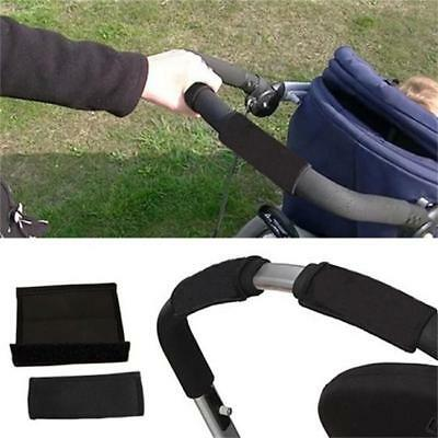 2X Baby Pushchair Stroller Carriage Front Handle Bar Grip Cover Protective C