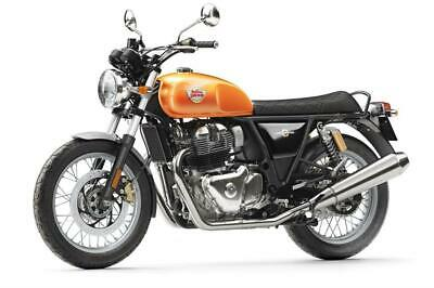 Royal enfield interceptor standard 650 arancione - 2019