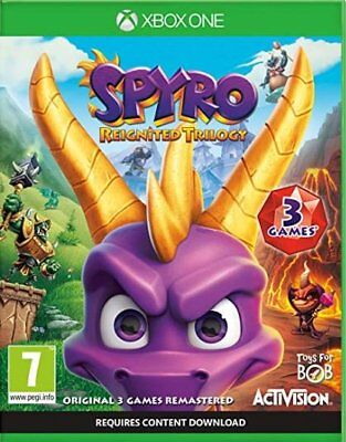 Spyro Reignited Trilogy (Xbox One)  NEW AND SEALED - IN STOCK - QUICK DISPATCH