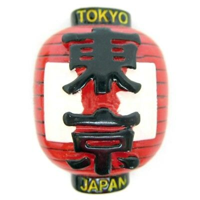 Resin Japan Tokyo Lantern Fridge Magnet Decor City Tourist Travel Souvenir