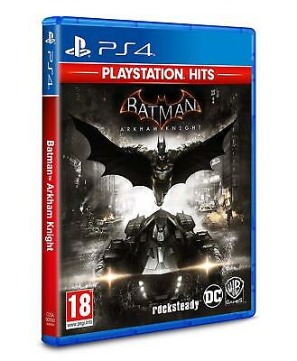 PlayStation Hits Batman Arkham Knight - PS4 Playstation 4 - NEW/SEALED - UK PAL