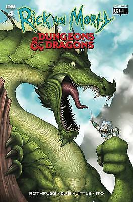Rick And Morty Vs Dungeons & Dragons #4 1:10 Variant Cover