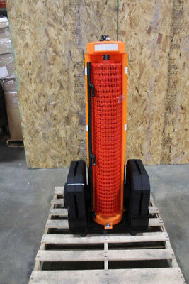 Rapid Roll Wheeled Safety Fence Barrier w/50ft Fence
