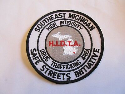 Michigan State Southeast HIDTA Drug Task Force Patch