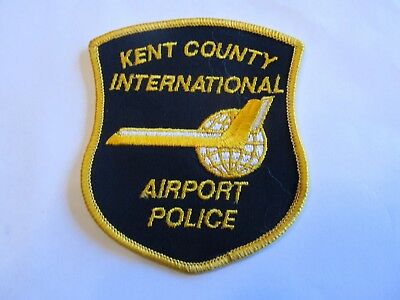 Michigan Kent Co Airport Police Patch