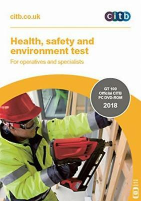 CSCS Card 2018 Test DVD Health and Safety For Operatives Specialists CITB