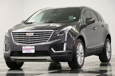 2018 Cadillac XT5 XT5 Platinum AWD Navigation Black Camera Used XT5 Platinum AWD Sunroof GPS Camera Heated Cooled Leather Remote Start 18