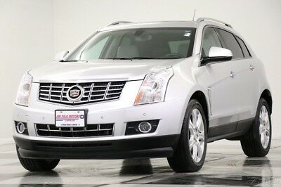 2016 Cadillac SRX SRX Performance Collection FWD Navigation Used SRX Heated Leather Sunroof Remote Start Bluetooth Camera FWD Silver 2016