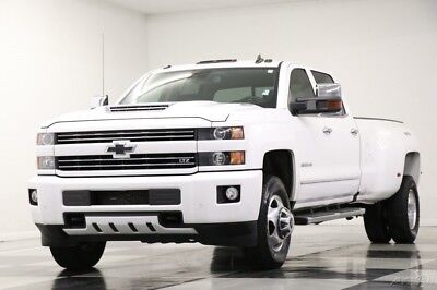 2017 Chevrolet Silverado 3500 HD 3500 LTZ Dually 6.6L Diesel Crew 4WD Used HD 3500 4X4 Remote Start Heated Cooled Leather Sunroof GPS V8 Dually 17