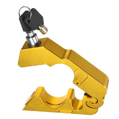 Motorcycle Handlebar Lock Brake Clutch Safety Theft With 2 Keys New D6Y9