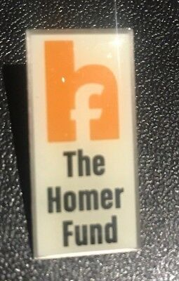 Home Depot Homer Fund Money Help OLD Collectible Apron Pin Homer Retail Rare