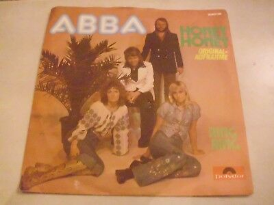 """7"""" Single, Abba, Ring ring, mit Cover"""