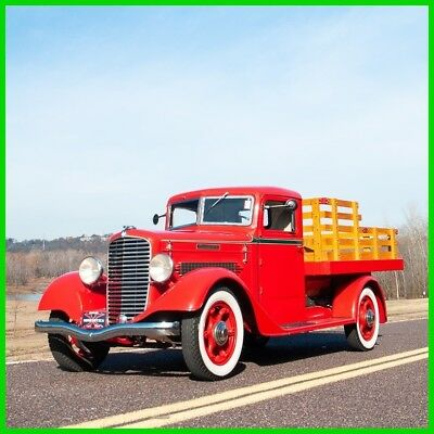 1935 Other Makes 211-AD Deluxe 1935 Diamond-T 211-AD Deluxe One-ton Stakebed Pickup