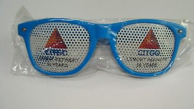 NEW Citgo LEMONT IL Refinery 90 years of Service PLASTIC SUNGLASSES GAS OIL