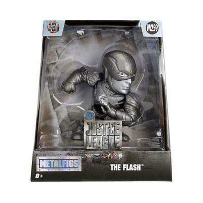"""New Justice League Metal Figs The Flash 4"""" Action Figure Dc Hero Gift For Him"""
