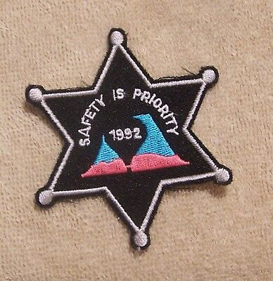 1992 Safety Is Priority Balloon Patch