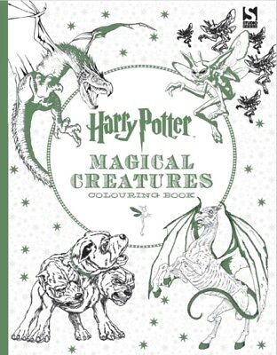 Harry Potter Magical Creatures Colouring Book (Paperback), Brothe...