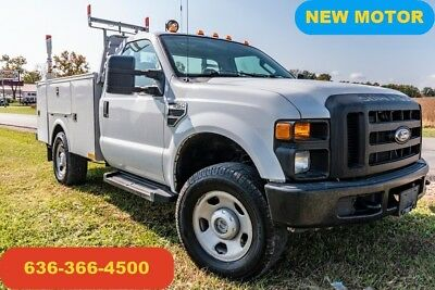 2008 Ford F350 XL Used service utility 4wd new crate motor warranty work truck