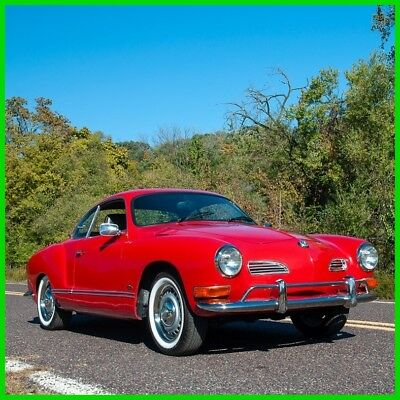 1971 Volkswagen Karmann Ghia Karmann Ghia 1971 Volkswagen Karmann Ghia Red over Black Coupe