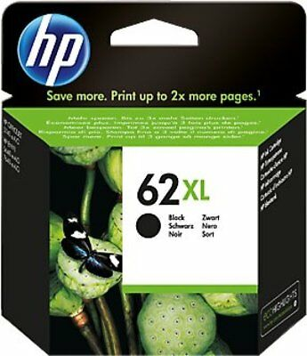 HP #62XL Black Ink Cartridge C2P05AN NEW GENUINE
