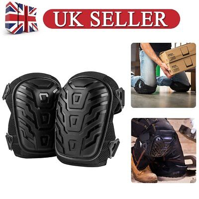Adjustable Work Wear Knee Pads Protector Brace Support Heavy Duty Training Sport