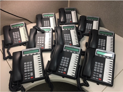 Lot of (10) Toshiba DKT3210SD Telephones in working condition (#5)