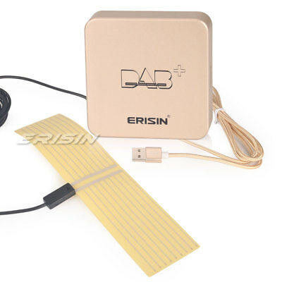 Car Radio Digital DAB+ Aerial MCX Amplified Antenna for Android 6/7/8 GPS Stereo