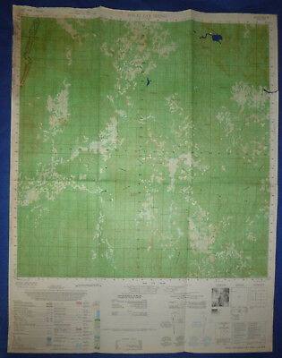 6537 iv - Viet Cong Captured - US MAP - POLEI JAR SIENG - Vietnam War, HCM TRAIL