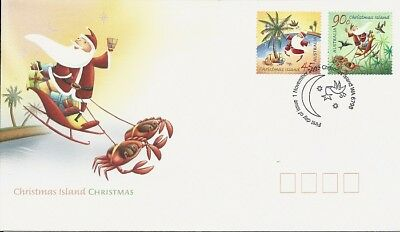 2005 Christmas Island - Christmas First Day Cover FDI