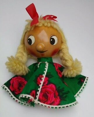 Vintage / Antique Steinbach Wooden Musical Spinning Doll German ❤
